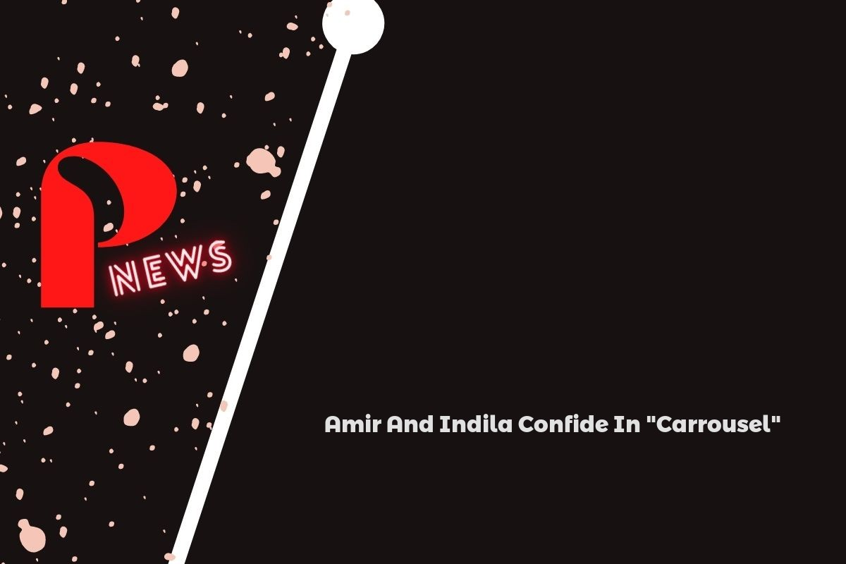 """Amir And Indila Confide In """"Carrousel"""""""