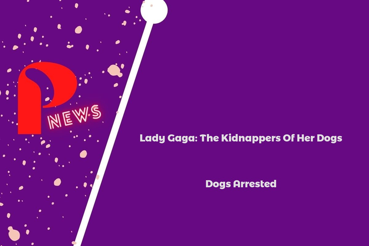 Lady Gaga: The Kidnappers Of Her Dogs Arrested