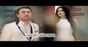 Şekillerde Gulen Qadin