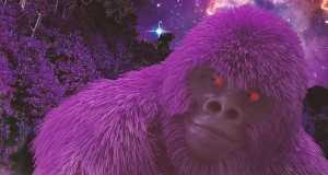 Gorilla Roxo