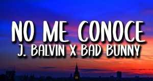 No Me Conoce Remix