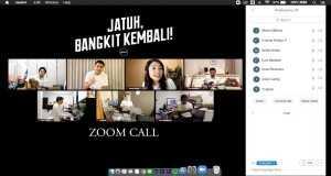 Jatuh, Bangkit Kembali! (Zoom Call)