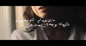 Seperti Takdir Kita Yang Tulis Music Video