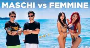 Maschi Vs Femmine Al Mare