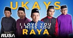 I Love You I Miss You Raya
