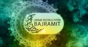 Urime Festa E Bajramit