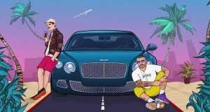 Niebieski Bentley