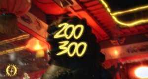 200 300