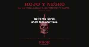 95 Puñaladas #rojoynegro????⚫