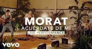 Acuérdate De Mí (Live)