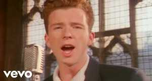Never Gonna Give You Up Music Video