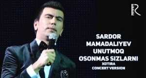 Unutmoq Osonmas Sizlarni
