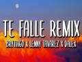 Te Falle Remix