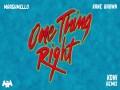 One Thing Right (Koni Remix)