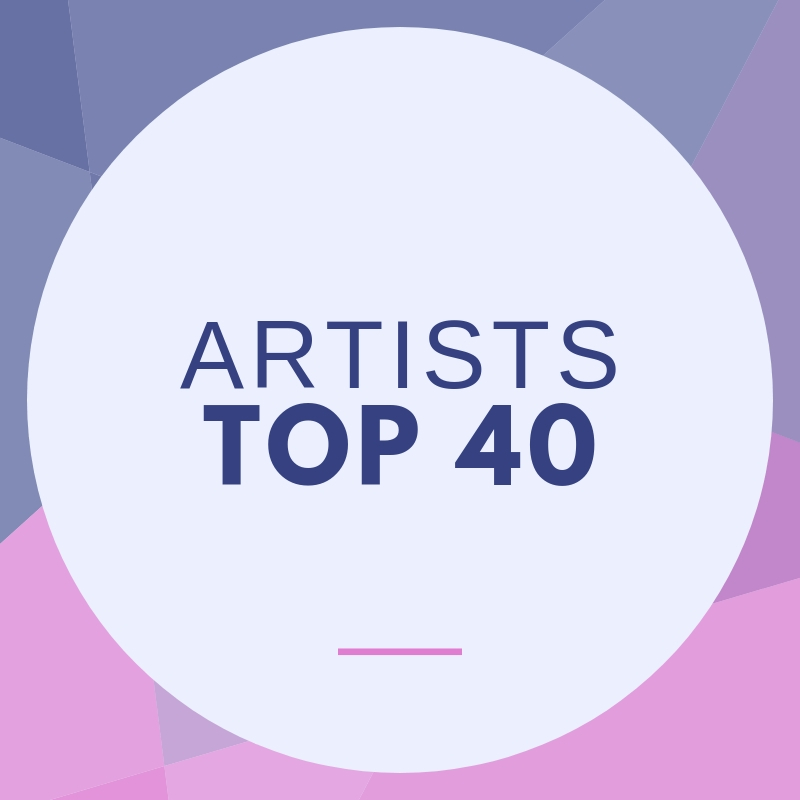 Eurovision Artists Top 40 Chart